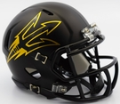 Arizona State Sun Devils Satin Finish Speed Riddell Mini Football Helmet