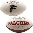 Atlanta Falcons Logo Full Size Signature Series Football