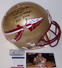 Autographed -  Official Full Size Riddell On Field Authentic Proline Football Helmets NCAA