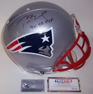 Autographed - Official Full Size Riddell On Field Authentic Proline Football Helmets - NFL