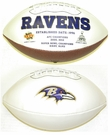 Baltimore Ravens Logo Full Size Signature Series Football