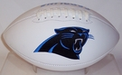 Carolina Panthers Logo Full Size Signature Series Football
