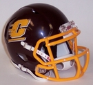 Central Michigan Chippewas Speed Revolution Riddell Mini Football Helmet