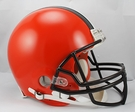 Cleveland Browns Riddell Authentic NFL Full Size On Field Proline Football Helmet