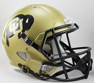 Colorado Buffaloes Riddell NCAA Full Size Deluxe Replica Speed Football Helmet