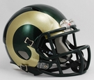 Colorado State Rams Speed Revolution Riddell Mini Football Helmet