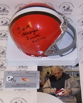 Dante Lavelli - Riddell - Autographed Mini Helmet - Cleveland Browns