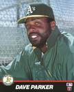 Dave Parker - Oakland A's / Pittsburgh Pirates - Autograph Signing March 21st-23rd, 2014