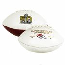 Denver Broncos Super Bowl 50 Champs Full Size Football