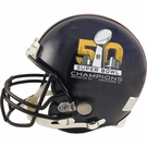 Denver Broncos - Super Bowl 50 Champs - Riddell Authentic NFL Full Size Proline Football Helmet
