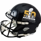 Denver Broncos - Super Bowl 50 Champs - Riddell NFL Full Size Deluxe Replica Speed Football Helmet