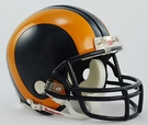 Eric Dickerson - Autographed Los Angeles Rams Riddell Mini Football Helmet