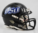 Georgia State Speed Riddell Mini Football Helmet