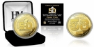 Highland Mint - Denver Broncos vs Carolina Panthers Super Bowl 50 Gold Flip Coin - Limited Edition of 10,000 �