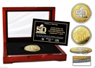 Highland Mint - Super Bowl 50 Two Tone Flip Coin - Limited Edition of 500