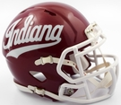 Indiana Hoosiers Speed Riddell Mini Football Helmet