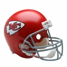 Len Dawson - Autographed Kansas City Chiefs Throwback Riddell Full Size Deluxe Football Helmet