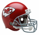Len Dawson - Autographed Kansas City ChiefsThrowback Riddell Full Size Authentic Proline Football Helmet