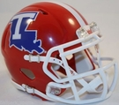 Louisiana Tech Speed Revolution Riddell Mini Football Helmet