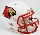 Louisville Cardinals Speed Revolution Riddell Mini Football Helmet