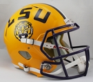 LSU Tigers Riddell NCAA Full Size Deluxe Replica Speed Football Helmet