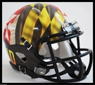 Maryland Terps PRIDE Speed Riddell Mini Football Helmet