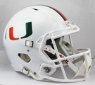 Miami Hurricanes Riddell NCAA Full Size Deluxe Replica Speed Football Helmet