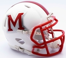 Miami of Ohio Redhawks Speed Revolution Riddell Mini Football Helmet