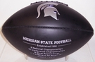 Michigan State Spartans Logo Full Size Black Football