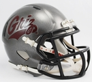 Montana Grizzlies Speed Revolution Riddell Mini Football Helmet