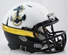 Navy 2012 Special Alternate Speed Revolution Riddell Mini Football Helmet