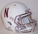 Nebraska Cornhuskers Speed Riddell Mini Football Helmet