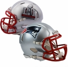 New England Patriots Super Bowl 51 LI Champs - Riddell Speed Mini Football Helmet