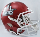 New Mexico State Riddell NCAA Full Size Deluxe Replica Speed Football Helmet