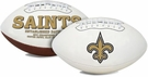 New Orleans Saints Logo Full Size Signature Series Football