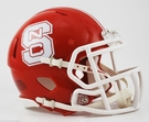 North Carolina State Wolfpack Red Speed Revolution Riddell Mini Football Helmet