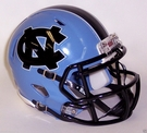 North Carolina Tarheels Speed Revolution Riddell Mini Football Helmet