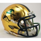 Notre Dame Speed Riddell 2015 Boston Series Hydrofx Carbon Fiber Mini Helmet