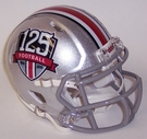 Ohio State Buckeyes 125th Anniversary Speed Revolution Riddell Mini Football Helmet