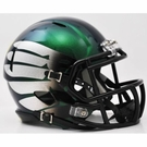 Oregon Ducks Speed Revolution Riddell Titanium Thunder Green Mini Helmet