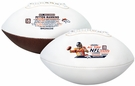 Peyton Manning Logo Full Size Signature Series Football