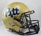 PITT Pittsburgh Panthers Riddell NCAA Full Size Deluxe Replica Speed Football Helmet