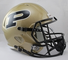 Purdue Boilermakers Riddell NCAA Full Size Deluxe Replica Speed Football Helmet