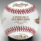 Rawlings Official 2013 World Series Game Baseball - Dueling Baseball with team names