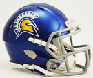 San Jose State Spartans Speed Revolution Riddell Mini Football Helmet