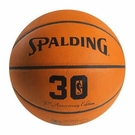 "Spalding ""30th Anniversary"" Official Leather NBA Game Ball (29.5)"