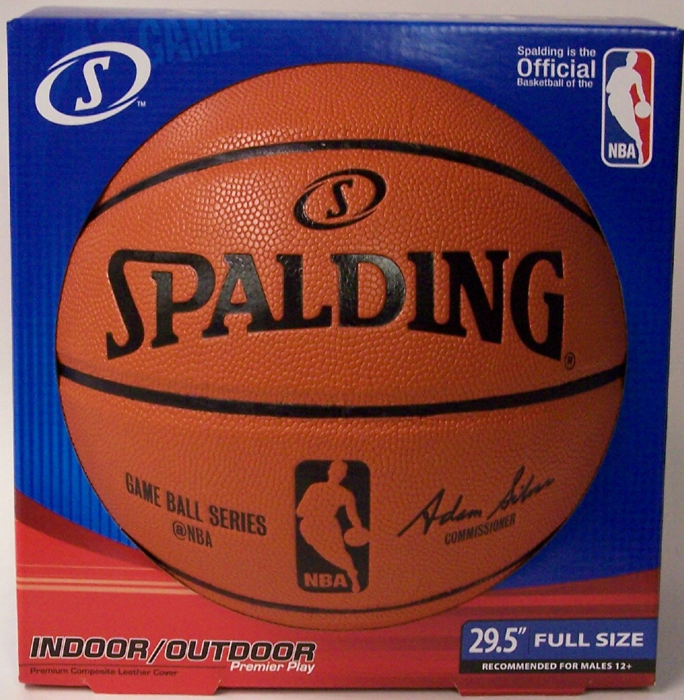 Spalding - NBA Game Ball Series Indoor / Outdoor Full Size ...