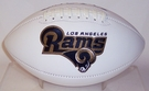 Los Angeles Rams Logo Full Size Signature Series Football