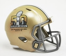 Super Bowl 50 - Riddell Speed NFL Pocket Pro Football Helmet