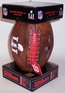 Super Bowl 51 LI Composite Leather Pee Wee Size Football